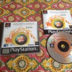 Videojuegos y Consolas: ROLAND GARROS 2001. PSX . Lote 183018045