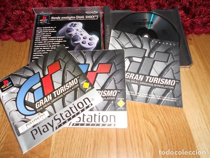 Videojuegos y Consolas: JUEGO PLAYSTATION 1 GRAN TURISMO THE REAL DRIVING SIMULATOR, ESPAÑOL PAL PS1 PLAY STATION SONY - Foto 2 - 183560483