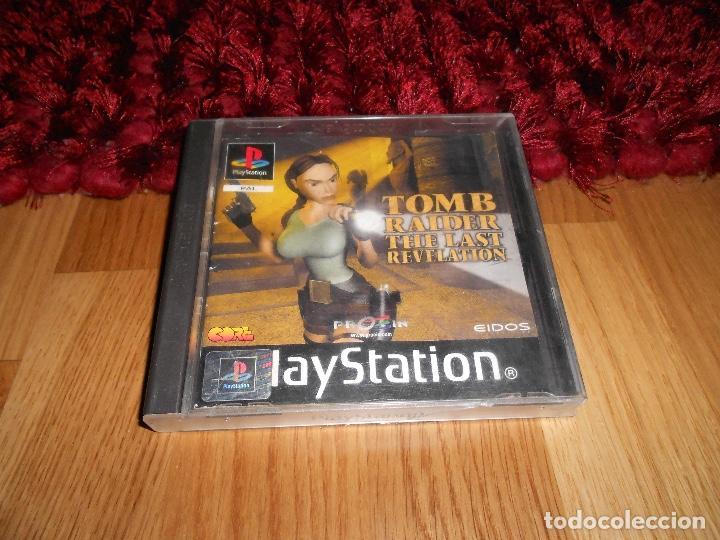 JUEGO PLAYSTATION 1 TOMB RAIDER LARA CROFT THE LAST REVELATION, ESPAÑOL PAL PS1 PLAY STATION (Juguetes - Videojuegos y Consolas - Sony - PS1)