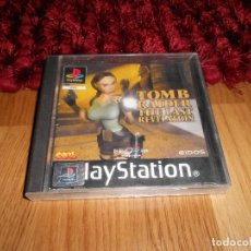 Videojuegos y Consolas: JUEGO PLAYSTATION 1 TOMB RAIDER LARA CROFT THE LAST REVELATION, ESPAÑOL PAL PS1 PLAY STATION. Lote 183562673