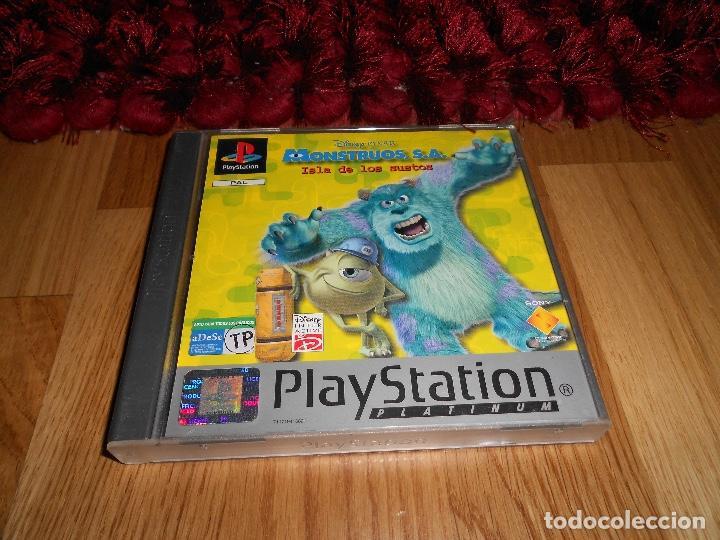 JUEGO DE PLAYSTATION 1 MONSTRUOS ISLA DE LOS SUSTOS (Juguetes - Videojuegos y Consolas - Sony - PS1)