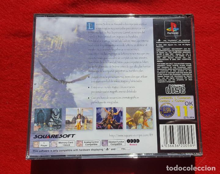 Videojuegos y Consolas: Juego Final Fantasy IX + Guías oficiales de Squaresoft y Hobby Consolas + Libro de rutas y secretos - Foto 2 - 183566292