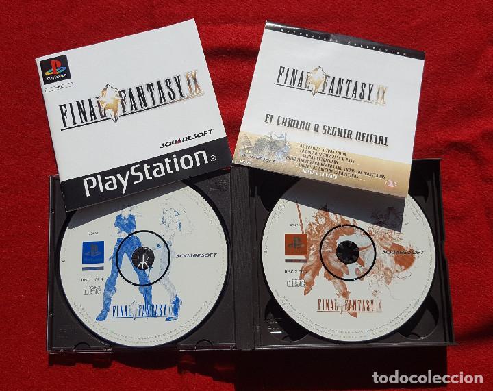 Videojuegos y Consolas: Juego Final Fantasy IX + Guías oficiales de Squaresoft y Hobby Consolas + Libro de rutas y secretos - Foto 3 - 183566292