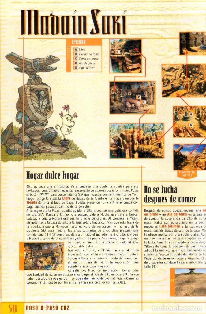 Videojuegos y Consolas: Juego Final Fantasy IX + Guías oficiales de Squaresoft y Hobby Consolas + Libro de rutas y secretos - Foto 6 - 183566292