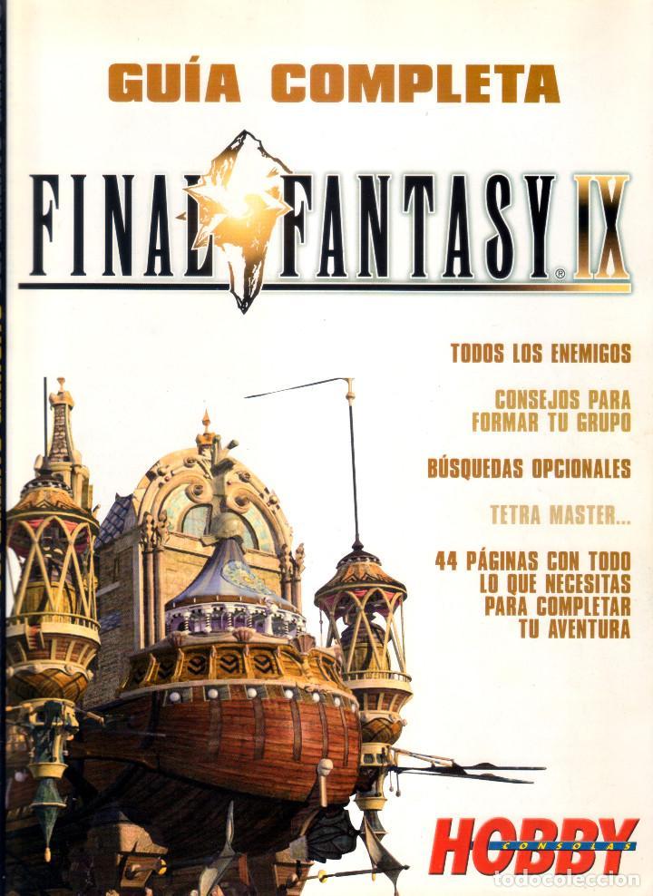 Videojuegos y Consolas: Juego Final Fantasy IX + Guías oficiales de Squaresoft y Hobby Consolas + Libro de rutas y secretos - Foto 11 - 183566292