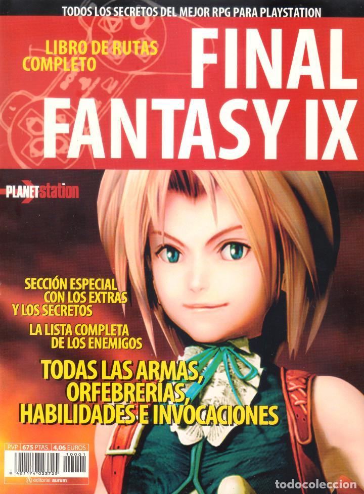 Videojuegos y Consolas: Juego Final Fantasy IX + Guías oficiales de Squaresoft y Hobby Consolas + Libro de rutas y secretos - Foto 13 - 183566292