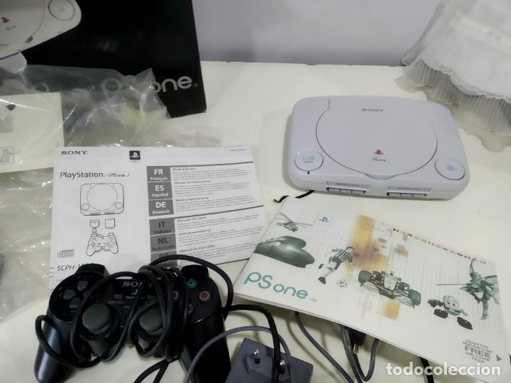 Videojuegos y Consolas: ANTIGUA CONSOLA PSX PLAY 1 PS ONE EN CAJA Y FUNCIONADO - Foto 9 - 183664161