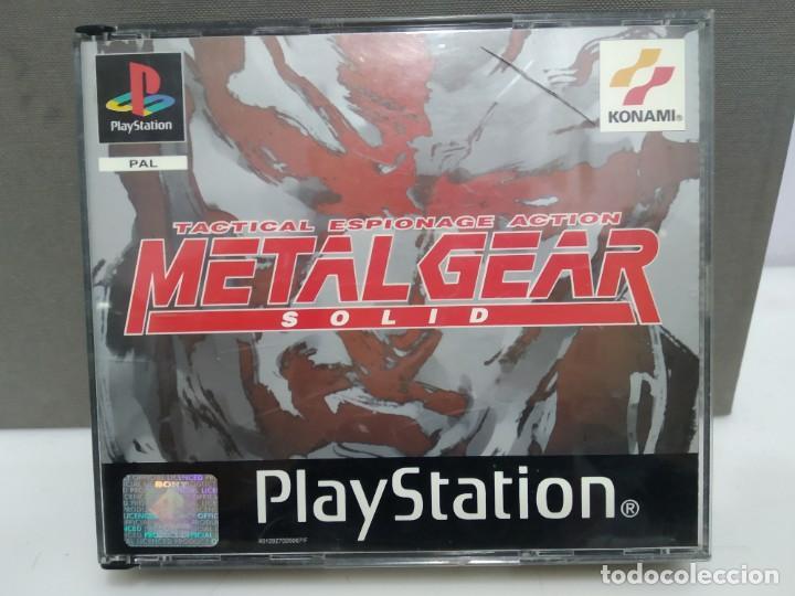 JUEGO PSX PLAY 1 METAL GEAR A FALTA DEL MANUAL (Juguetes - Videojuegos y Consolas - Sony - PS1)