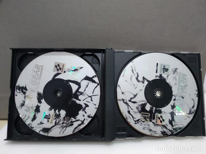 Videojuegos y Consolas: JUEGO PSX PLAY 1 METAL GEAR A FALTA DEL MANUAL - Foto 3 - 183668487