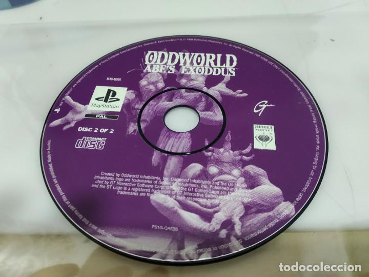 JUEGO PSX PLAY 1 ODDWORLD (Juguetes - Videojuegos y Consolas - Sony - PS1)