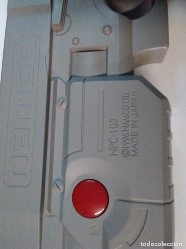 Videojuegos y Consolas: PISTOLA DE GRAN TAMAÑO NAMCO PARA PLAYSTATION - Foto 4 - 183695652