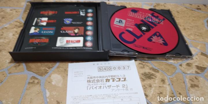 Videojuegos y Consolas: RESIDENT EVIL 2 PLAYSTATION 1 PSX BIOHAZARD 2 JAP NTSC COMPLETO IMPORTADO JAPON - Foto 10 - 183844008