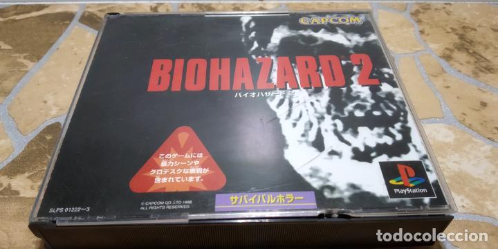 Videojuegos y Consolas: RESIDENT EVIL 2 PLAYSTATION 1 PSX BIOHAZARD 2 JAP NTSC IMPORTADO JAPON - Foto 3 - 183844230