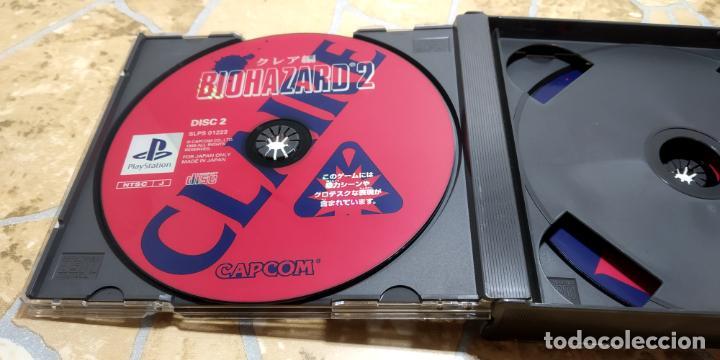 Videojuegos y Consolas: RESIDENT EVIL 2 PLAYSTATION 1 PSX BIOHAZARD 2 JAP NTSC IMPORTADO JAPON - Foto 6 - 183844230