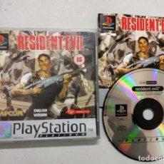 Videojuegos y Consolas: RESIDENT EVIL - PLAYSTATION 1 PSX - PAL UK. Lote 183850815