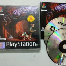 Videojuegos y Consolas: HEART OF DARKNESS - PLAYSTATION 1 PSX - PAL UK. Lote 183850855