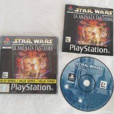 Videojuegos y Consolas: STAR WARS LA AMENAZA FANTASMA PARA PS1. Lote 184007128