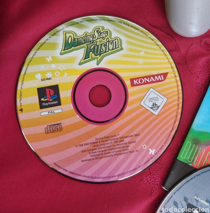 Videojuegos y Consolas: CONSOLA PS1 + 2 MANDOS + ACTUA SOCCER + CRASH TEAM + DANCING STAGE + THEME PARK WORLD - Foto 3 - 184144940