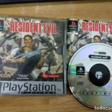 Videojuegos y Consolas: RESIDENT EVIL - PSX PLAYSTATION 1 PS1 PAL ESP. Lote 184384423