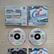 Videojuegos y Consolas: GRAN TURISMO 2 - PLATINUM - PLAYSTATION - PSX - COMPLETO. Lote 184549011