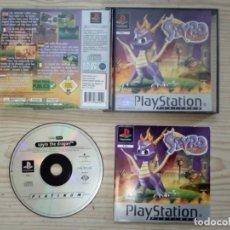 Videojuegos y Consolas: SPYRO THE DRAGON - PLATINUM - PLAYSTATION - PSX - COMPLETO. Lote 184549435