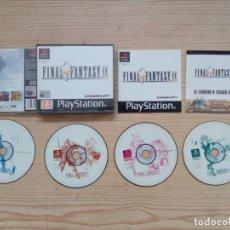 Videojuegos y Consolas: FINAL FANTASY IX - PLAYSTATION - PSX - COMPLETO. Lote 184563083