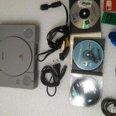 Videojuegos y Consolas: LOTE CONSOLA PS1 + JUEGOS. Lote 184579165