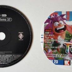 Videojuegos y Consolas: EURO DEMO 37 - DEMOS JUGABLES DE TOMBI, TEST DRIVER 5, NINJA, ....SOLO DISCO Y CARATULA. Lote 185873882