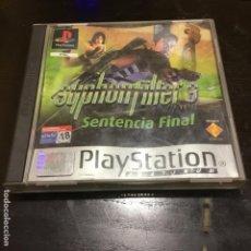 Videojuegos y Consolas: SYPHONFILTER 3 PS1 JUEGO PLAYSTATION. Lote 186082043