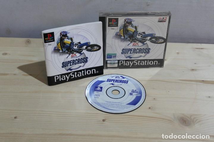 JUEGO PLAYSTATION 1 SUPER CROSS (Juguetes - Videojuegos y Consolas - Sony - PS1)