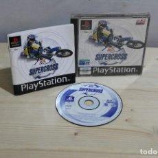 Videojuegos y Consolas: JUEGO PLAYSTATION 1 SUPER CROSS. Lote 186089480