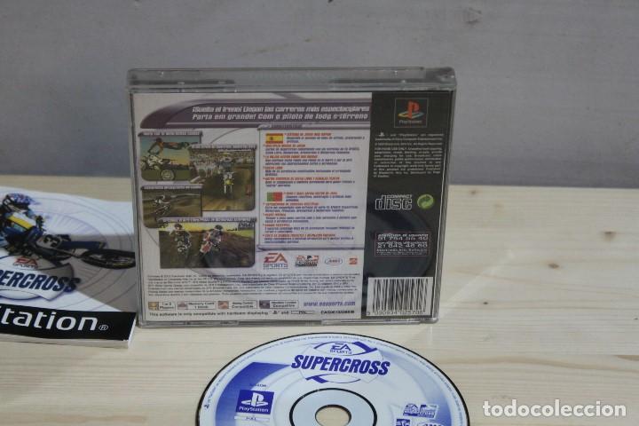 Videojuegos y Consolas: JUEGO PLAYSTATION 1 SUPER CROSS - Foto 2 - 186089480