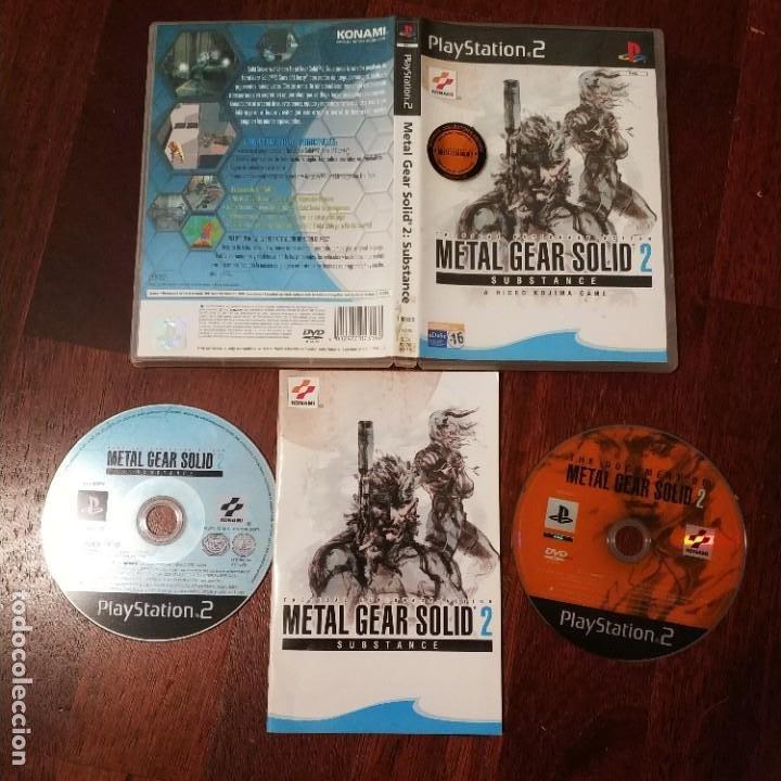 METAL GEAR SOLID 2: SUBSTANCE, COMPLETO Y MUY BUEN ESTADO, VER FOTOS (Juguetes - Videojuegos y Consolas - Sony - PS1)