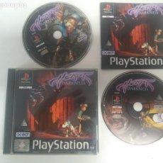Videojuegos y Consolas: HEART OF DARKNESS PARA PS1 PS2 Y PS3 ENTRE Y MIRE MIS OTROS JUEGOS!. Lote 221798686