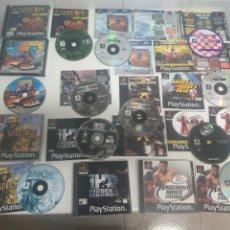 Videojuegos y Consolas: LOTAZO DE JUEGOS PARA PS1 PS2 Y PS3 ENTRE Y MIRE MIS OTROS JUEGOS!. Lote 187082887