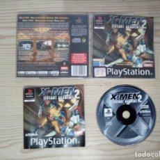 Videojuegos y Consolas: X-MEN 2 MUTANT ACADEMY - PLAYSTATION - PSX - COMPLETO. Lote 187096008