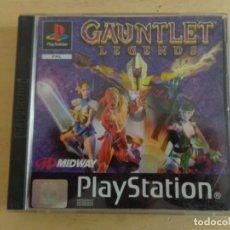 Videojuegos y Consolas: JUEGO COMPLETO 'GAUNTLET LEGENDS' PS1. Lote 187164326