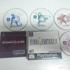 Videojuegos y Consolas: FINAL FANTASY IX PARA PS1 PS2 Y PS3!!! ENTRA Y MIRA MIS OTROS JUEGOS!!. Lote 187177326