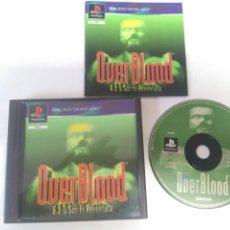 Videojuegos y Consolas: OVERBLOOD PARA PS1 PS2 Y PS3 ENTRE Y MIRE MIS OTROS JUEGOS!. Lote 187324472