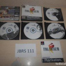 Videojuegos y Consolas: PS1 - FINAL FANTASY VIII , PAL ESPAÑOL , COMPLETO. Lote 187515808