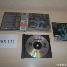 Videojuegos y Consolas: PS1 - ALIEN TRILOGY , PAL ESPAÑOL , COMPLETO. Lote 187516617