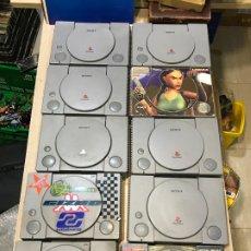 Videojuegos y Consolas: LOTE DE CONSOLAS PLAYSTATION 1 - PSX - SOLO CONSOLA SIN CABLES NI MANDO. Lote 189168486