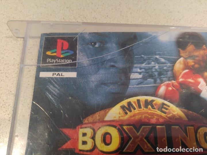 Videojuegos y Consolas: MIKE TYSON BOXING PLAYSTATION PS1 PSONE PAL-ESPAÑA SIN MANUAL - Foto 2 - 189415997