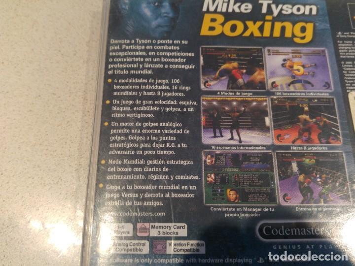 Videojuegos y Consolas: MIKE TYSON BOXING PLAYSTATION PS1 PSONE PAL-ESPAÑA SIN MANUAL - Foto 3 - 189415997