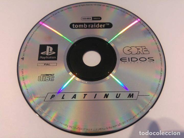 TOMB RAIDER PLAYSTATION PS1 PSONE SOLO EL CD ORIGINAL (Juguetes - Videojuegos y Consolas - Sony - PS1)