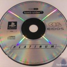Videojuegos y Consolas: TOMB RAIDER PLAYSTATION PS1 PSONE SOLO EL CD ORIGINAL . Lote 189416263