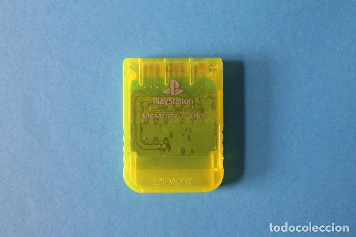 SONY PLAYSTATION 1 - MEMORY CARD ORIGINAL (Juguetes - Videojuegos y Consolas - Sony - PS1)