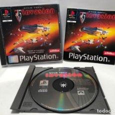 Videojuegos y Consolas: STAR TREK INVASION PLAYSTATION PSX PS1 PSONE. Lote 190199093