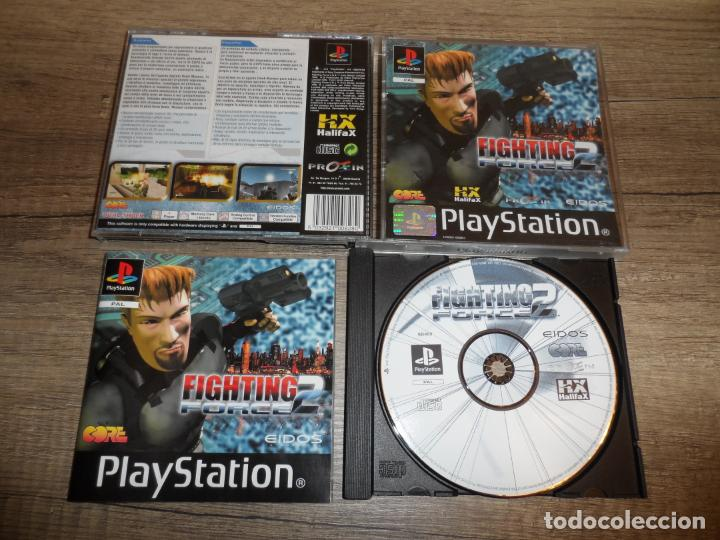 PS1 FIGHTING FORCE 2 PAL ESP COMPLETO (Juguetes - Videojuegos y Consolas - Sony - PS1)