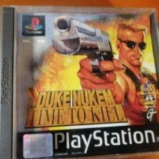 Videojuegos y Consolas: JUEGO DUKE NUKEM TIME TO KILL PARA SONY PLAYSTATION 1. Lote 190526202
